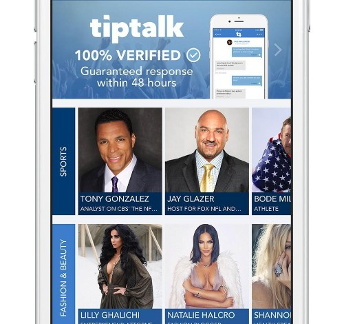 Want to Chat With Your Favorite Celeb? TipTalk Could Make it Happen
