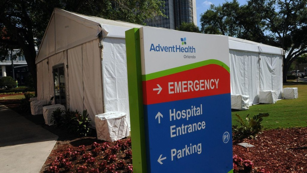 More Than 40 Hospital ICUs In Florida Have Hit Maximum Capacity With Zero Beds Available