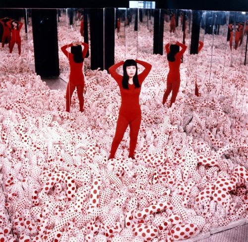 Polka Dots As Political Protest? How Artist Yayoi Kusama Started A Fashion Revolution