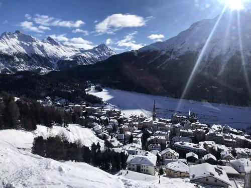 St Moritz: A Swiss Winter Fairytale