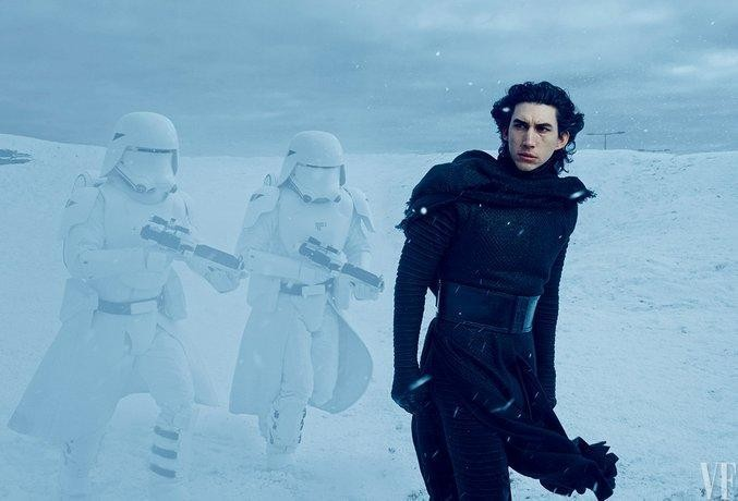 So This Is The New 'Star Wars' Villain Kylo Ren Without His Mask