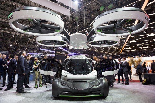 Finally, In Geneva, A Flying Car That Might Work