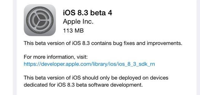 Apple iOS 8.3 Has 3 Great Secret Features