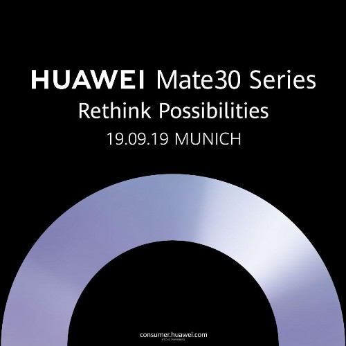 Huawei Confirms Date For Crucial Mate 30 Pro Launch. What It Means For Android - And Trump