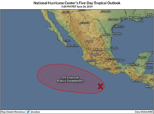 A Brewing Disturbance May Break The Eastern Pacific's Unusually Quiet Start To Hurricane Season