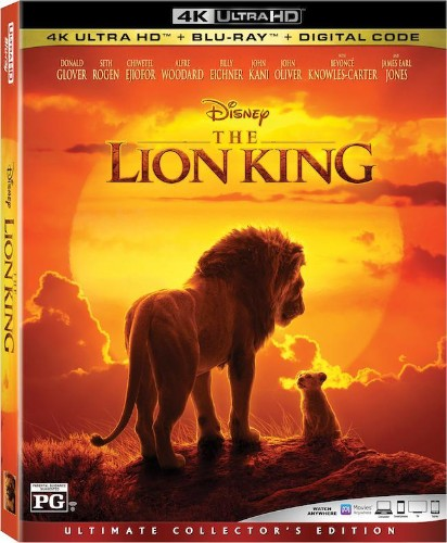 'The Lion King' (2019) 4K Blu-ray Details Revealed