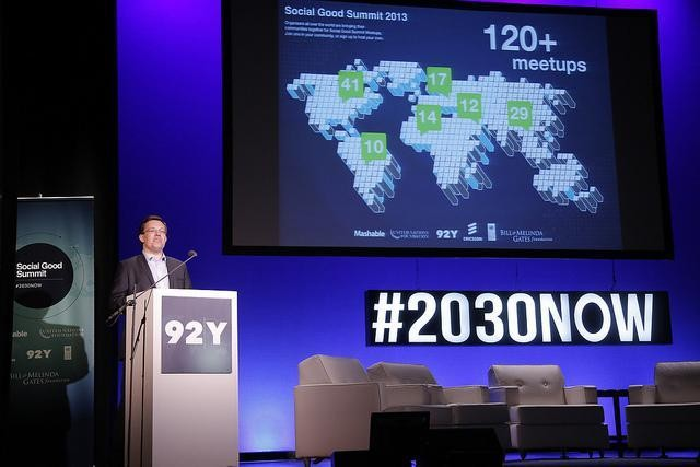Social Good Summit: How Will We Create a Better World by 2030?