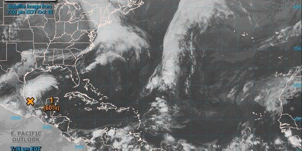Named Or Not, A Tropical Disturbance Will Likely Soak The Southeast This Weekend
