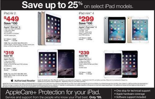 Black Friday: Best Apple Watch, Galaxy Gear & iPad Deals