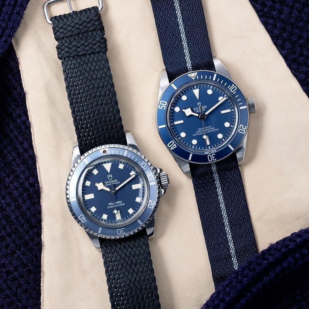 Black Bay 58 Navy Blue Revisits Tudor's 1960s-Era Military Dive Watches