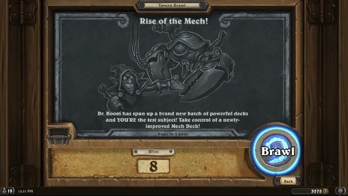 All The Decks From The Rise Of The Mech! Brawl In 'Hearthstone'