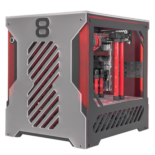 Meet The Asteroid: A $6,000 Liquid-Cooled Customized Mini Gaming PC