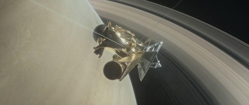 Cassini Is Back From First Death-Defying Dive Between Saturn And Its Rings
