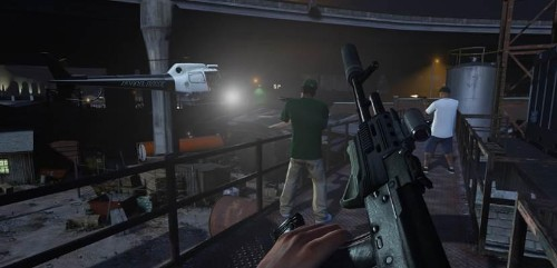 'Grand Theft Auto V' Now A First-Person Shooter