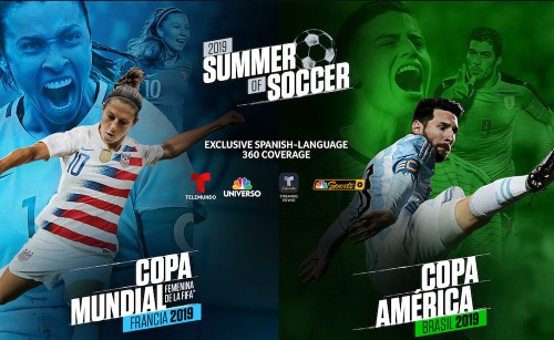 Telemundo Scores Ratings Goal With Women's World And Copa América Cups