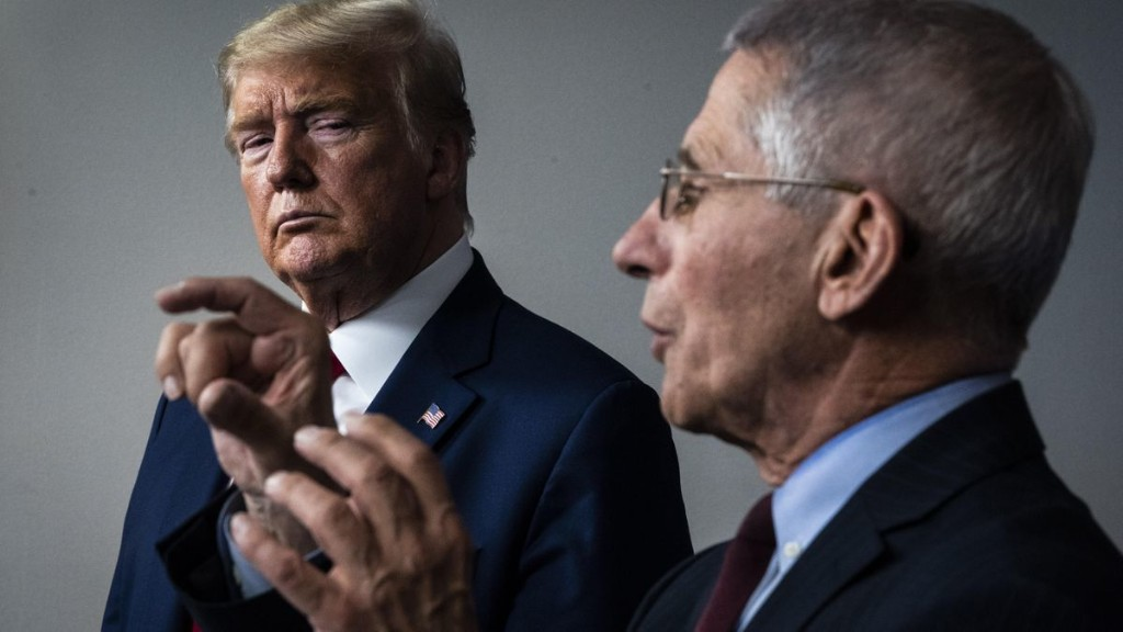 Trump Calls Dr. Fauci 'Disaster,' Says He Would Fire Him It Weren't For Negative Press