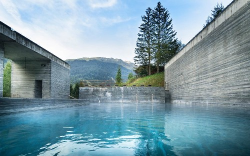 The Best Contemporary Spa Resorts in Switzerland