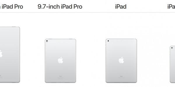 iPad 9.7 (2017) Vs iPad Pro Vs iPad Air 2 Vs iPad Mini 4: What's The Difference?