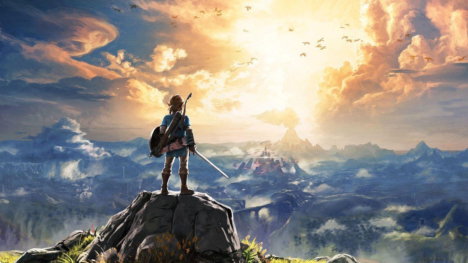 Zelda : Breath Of The Wild - Magazine cover