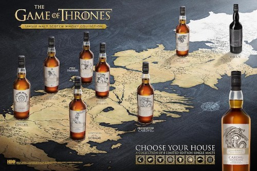 A Collection of 'Game of Thrones' Single Malts Is Coming