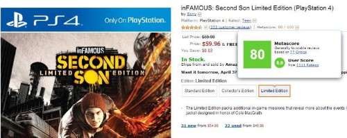 Metacritic's Power Grows As Amazon Adds Metascore To Game Listings
