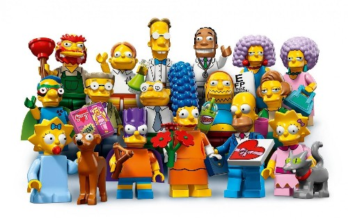 Series 2 'The Simpsons' Lego Minifigures Extend Comic Book Theme