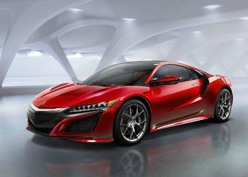 2015 Detroit Auto Show: Get A Look At The 2016 Acura NSX