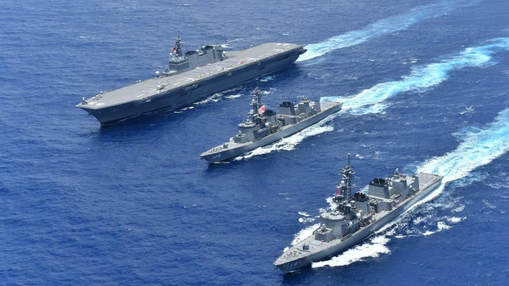 Japan's Building Aircraft Carriers, China's Thinking About Sinking Them