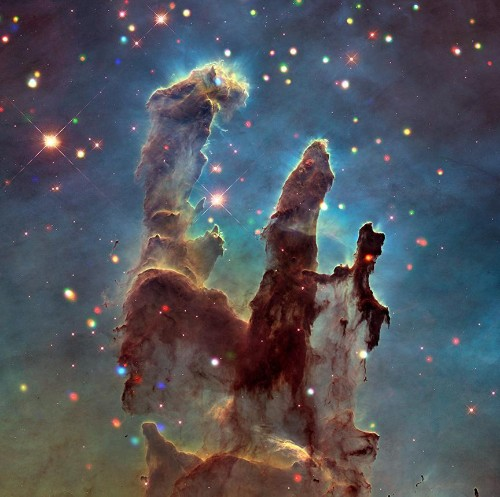 The Pillars Of Creation Haven't Been Destroyed, Say New NASA Images