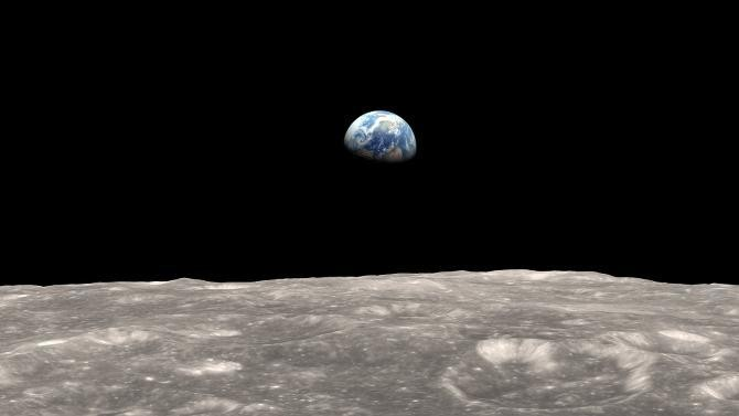 The Earth's Gravity Is Pulling So Hard At The Moon, It's Bulging