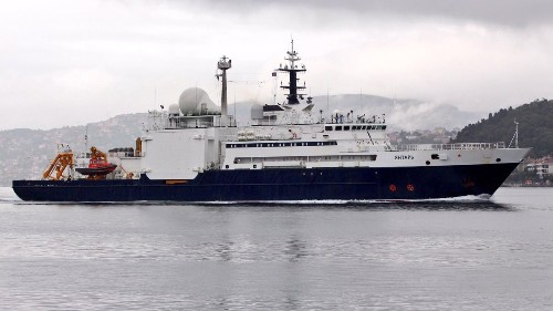 Russia's Suspected Internet Cable Spy Ship Appears Off Americas