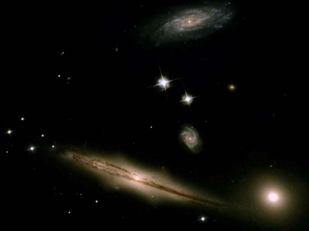 Galaxies Found Close Together Show Signs Of Impending Doom