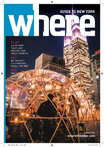 Where, The Ubiquitous Travel Magazines, Get A Revamp And A New Name