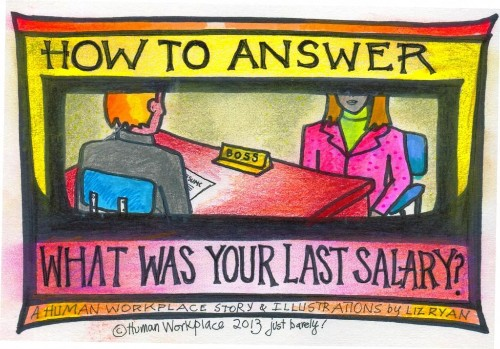 How To Answer 'What Was Your Last Salary?'