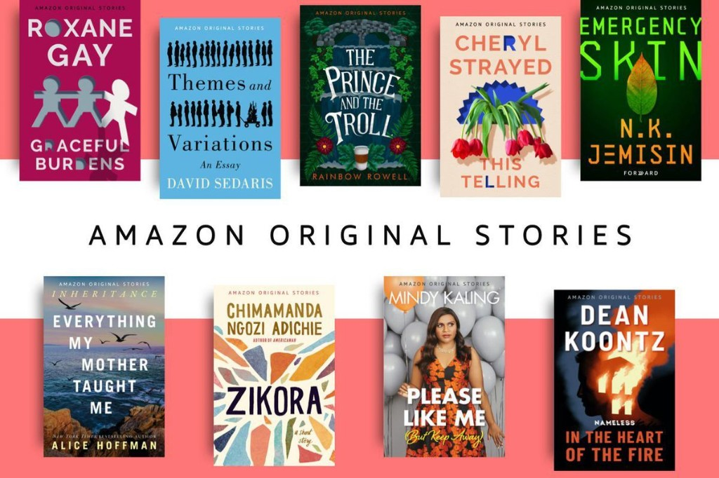 """How Amazon Original Stories Chooses Its """"Single Sitting"""" Reads"""