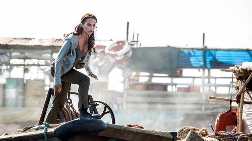 Alicia Vikander's 'Tomb Raider' Tops Box Office With $9M Friday