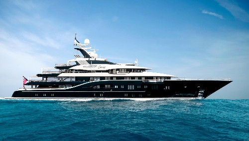 5 Largest Megayachts At The Monaco Yacht Show