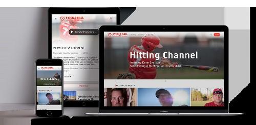 Stick & Ball TV Launches As Instructional Baseball OTT Service