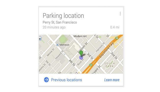 Google Helps You Find Your Parked Car