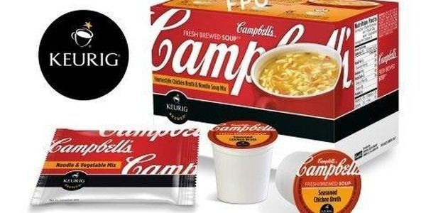 Soup From A Coffeemaker, Anyone? Green Mountain Will Start Selling Campbell Soup K-Cups