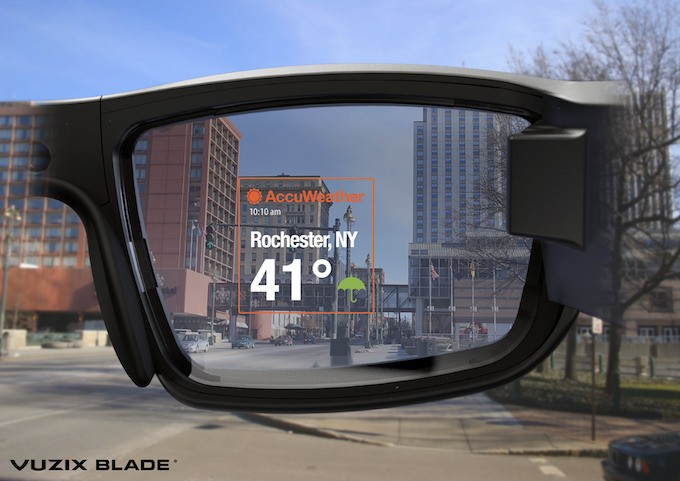 First Impressions Of The New Vuzix Blade AR Glasses