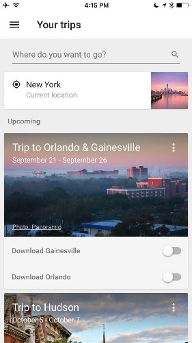 Google's New Travel App Finally Makes It Easy To Download Offline Maps
