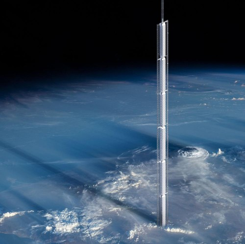 New York Architects Plan Enormous Skyscraper Hanging From An Asteroid In Space