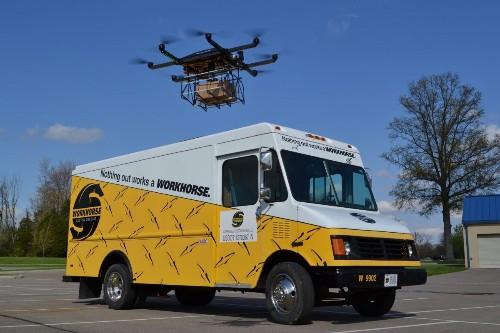 Forget Amazon And Google, The Workhorse Truck Could Be First To Use Drones To Deliver Packages