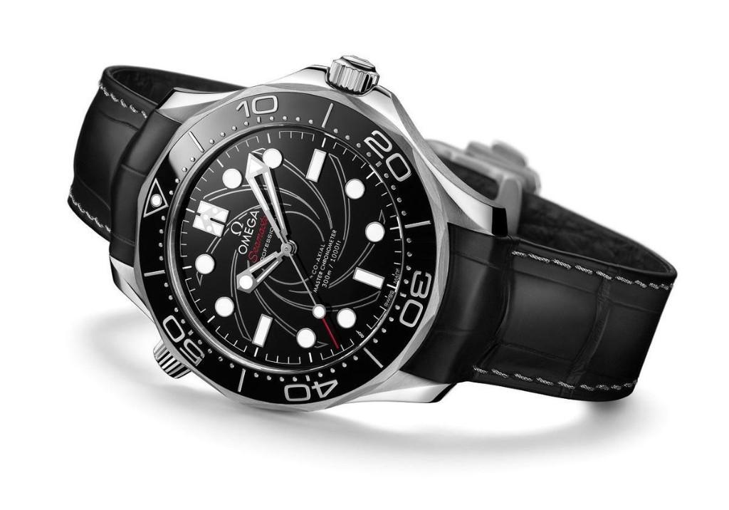 Omega Debuts The Seamaster Diver 300M James Bond Numbered Edition Platinum-Gold