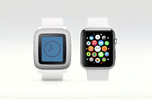 Simple Vs. Splashy: Can Pebble Time Beat Apple Watch On Your Wrist?