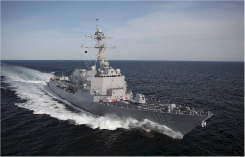 Navy's Aegis Combat System Takes Center Stage As Missile Threats Proliferate