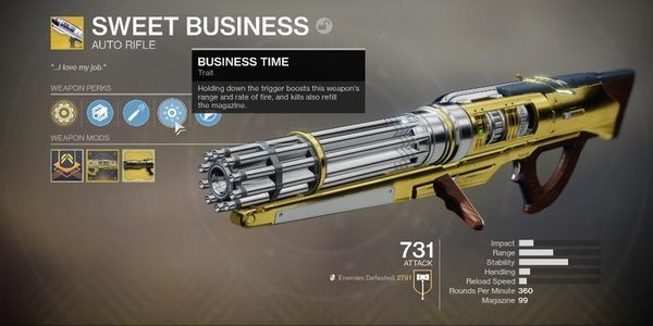 'Destiny 2' Will Be Buffing A Massive Amount Of Weapons For Shadowkeep