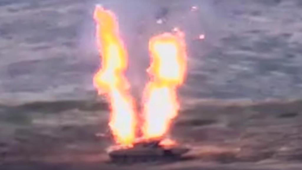 Tanks Ablaze As Azerbaijani Forces Attack Armenian Troops In Disputed Nagorno-Karabakh