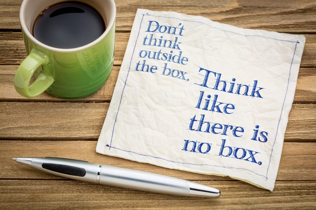 Why 'Thinking Outside The Box' Is The Wrong Way To Approach Innovation